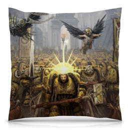 "Подушка 40х40 с полной запечаткой ""Warhammer"" - warhammer"