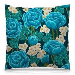 """Подушка 40х40 с полной запечаткой """"Красивые цветы"""" - красиво, цветы, природа, ярко, красивые цветы"""