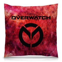 """Подушка 40х40 с полной запечаткой """"Overwatch"""" - игры, компьютерные игры, дозор, overwatch, овервотч"""