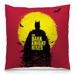"""Подушка 40х40 с полной запечаткой """"Batman (Бэтмен)"""" - темный рыцарь"""
