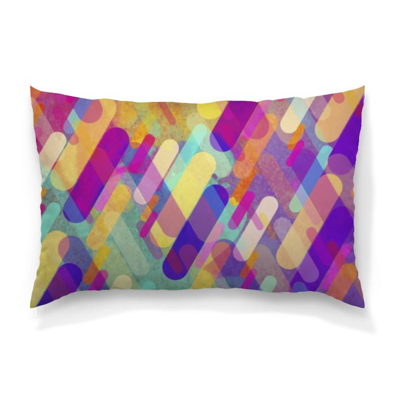 Подушка 60х40 с полной запечаткой Printio Разноцветная абстракция сумка с полной запечаткой printio разноцветная абстракция