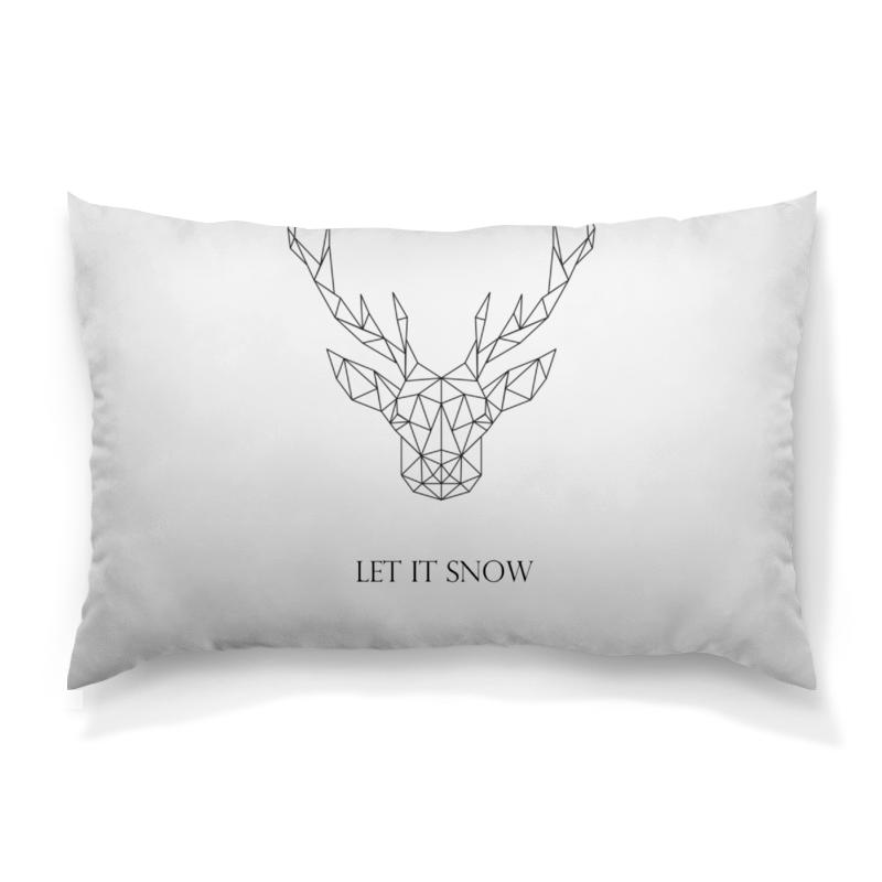 Подушка 60х40 с полной запечаткой Printio Dear deer рубашка поло с полной запечаткой printio dear deer