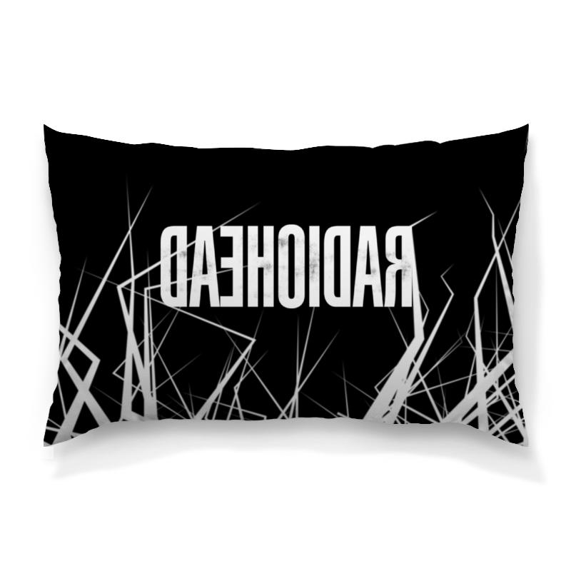 Подушка 60х40 с полной запечаткой Printio Radiohead cd из японии radiohead