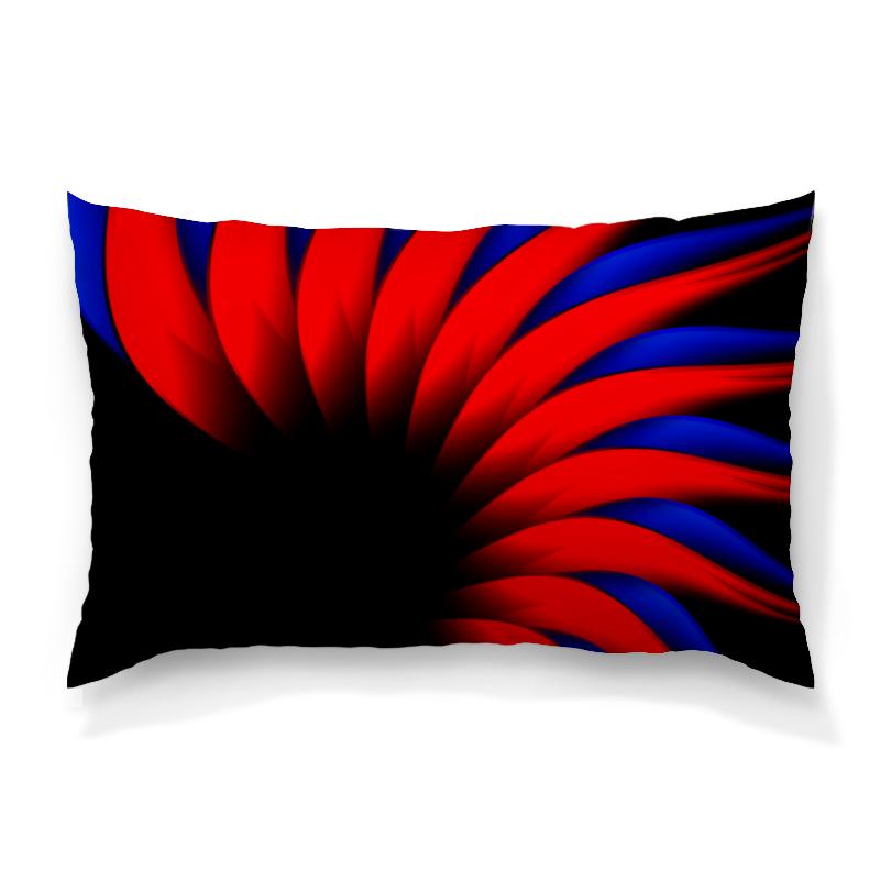 Подушка 60х40 с полной запечаткой Printio Сине-красный цена и фото