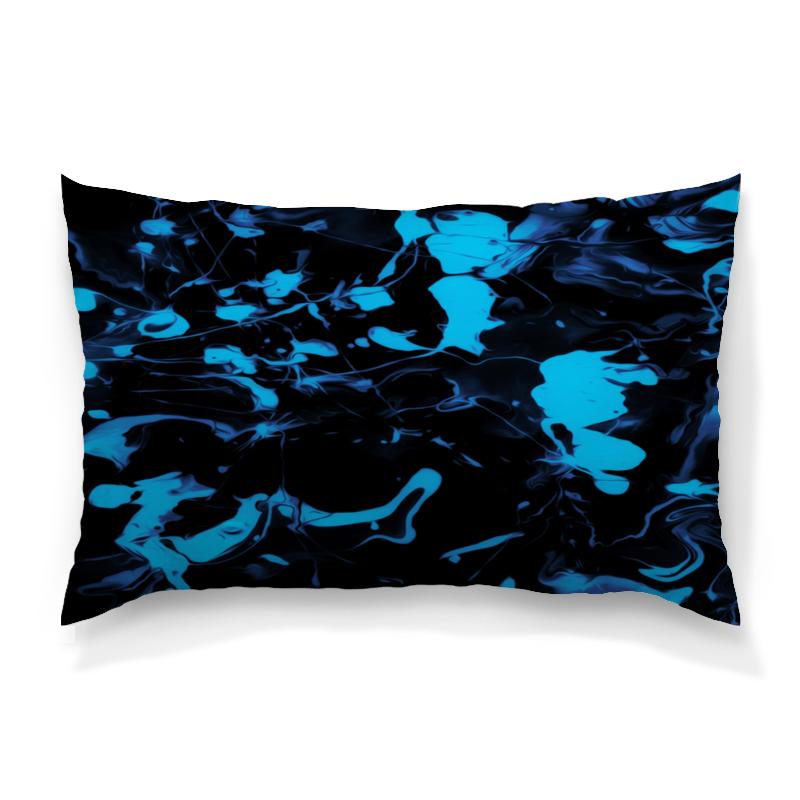Подушка 60х40 с полной запечаткой Printio Голубые брызги рюкзак с полной запечаткой printio голубые брызги