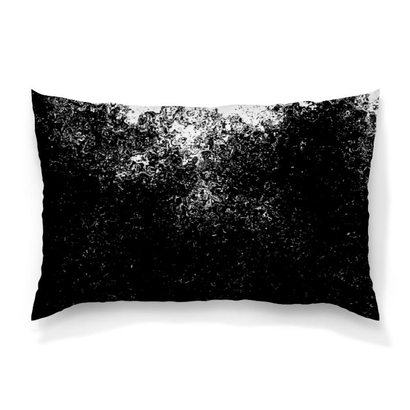Подушка 60х40 с полной запечаткой Printio Черно-белые краски подушка 60х40 с полной запечаткой printio черно белые краски