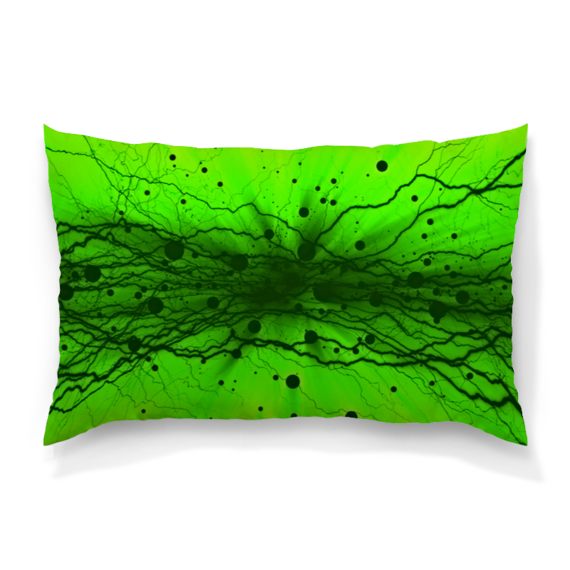 Подушка 60х40 с полной запечаткой Printio Узор на зеленом подушка 40х40 с полной запечаткой printio узор на зеленом