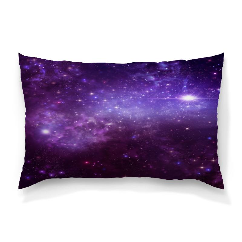 Подушка 60х40 с полной запечаткой Printio Звезды космоса