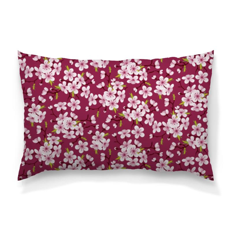 Фото - Printio Цветущая вишня подушка 40х40 с полной запечаткой printio цветущая долина
