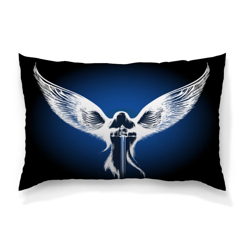 Подушка 60х40 с полной запечаткой Printio Ангел анатолий ярмолюк поспорил ангел с демоном