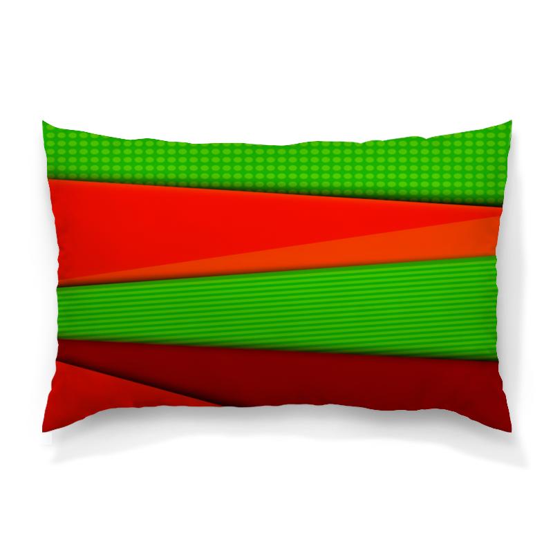 Подушка 60х40 с полной запечаткой Printio Цветные полосы картридж epson stylus photo r3000 c13t15764010