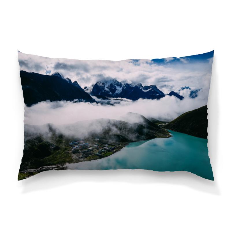 Подушка 60х40 с полной запечаткой Printio Туман в горах цветной тм туман в горах