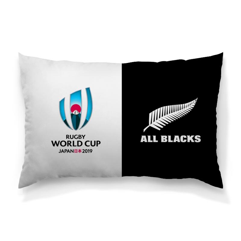 Printio Новая зеландия регби - кубок мира 2019 лонгслив printio чемпионы регби новая зеландия