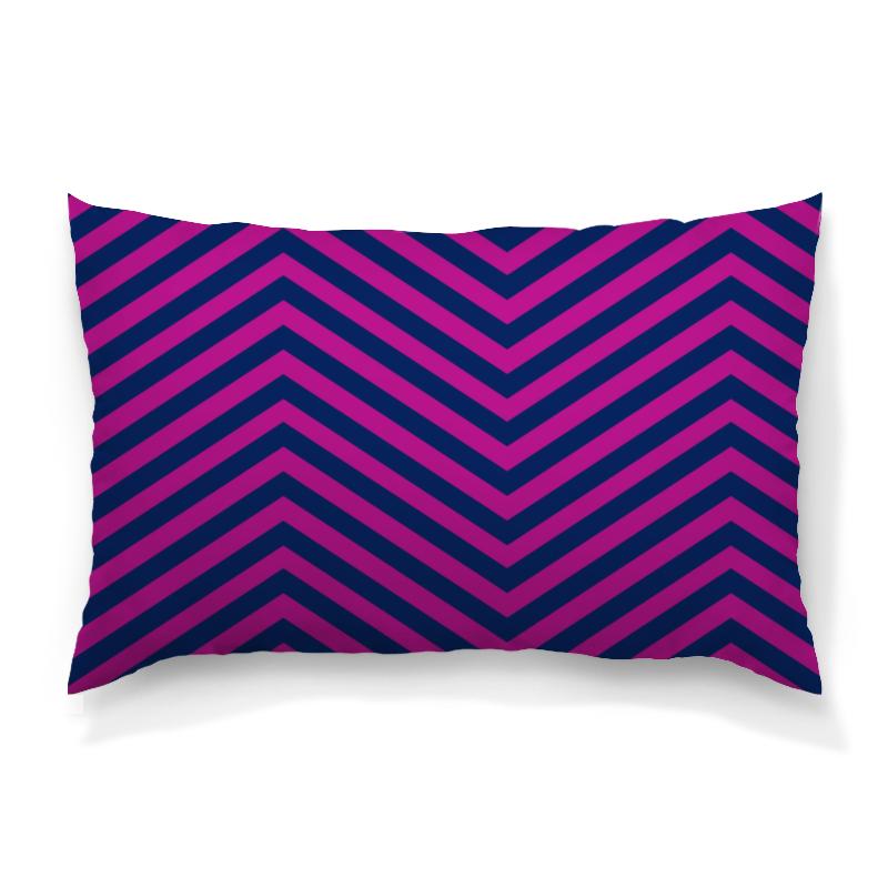 Подушка 60х40 с полной запечаткой Printio Фиолетовые полосы футболка с полной запечаткой женская printio фиолетовые полосы