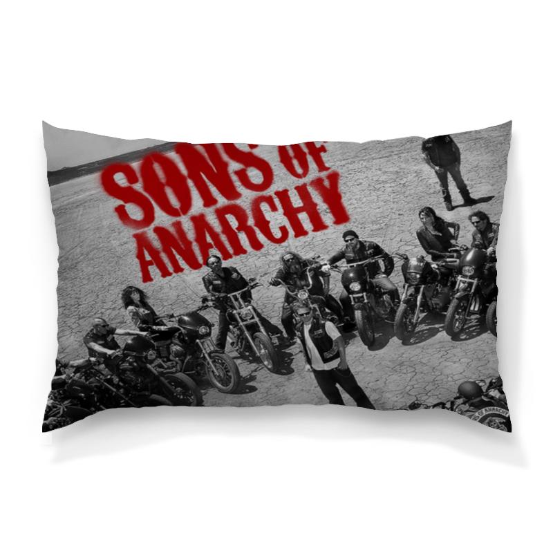 Подушка 60х40 с полной запечаткой Printio Сыны анархии / sons of anarchy фартук с полной запечаткой printio сыны анархии
