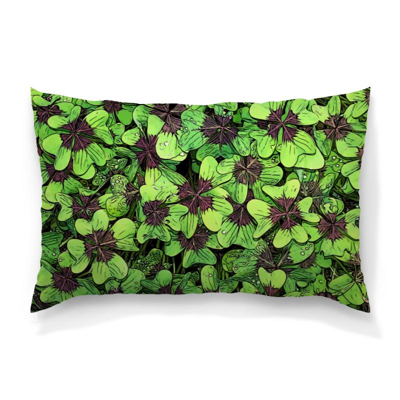 Подушка 60х40 с полной запечаткой Printio Зеленые цветы подушка 60х40 с полной запечаткой printio зеленые стекла