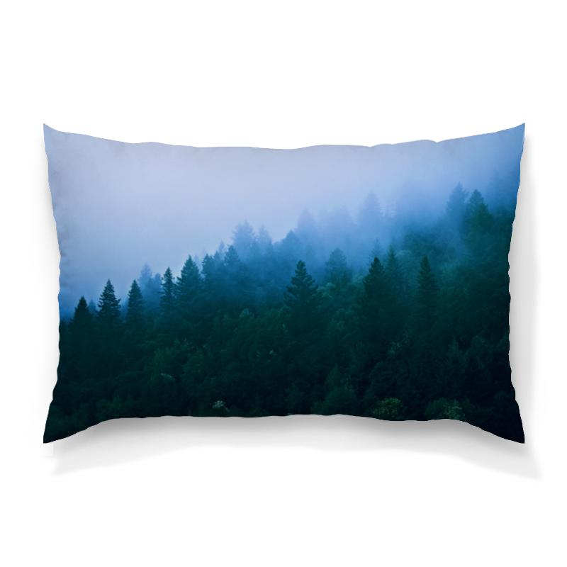 Подушка 60х40 с полной запечаткой Printio Лесной пейзаж юбка карандаш printio лесной пейзаж