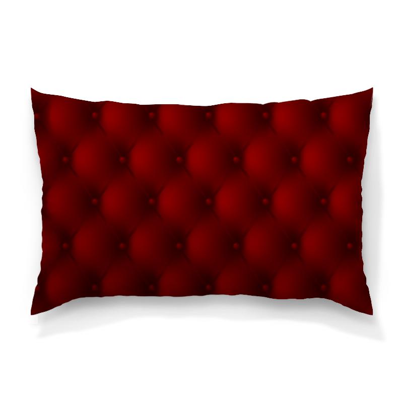 Подушка 60х40 с полной запечаткой Printio Красная