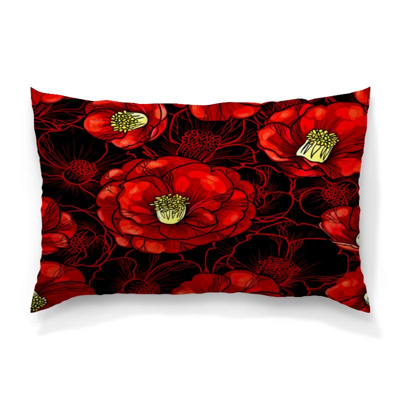 Подушка 60х40 с полной запечаткой Printio Цветы мака борцовка с полной запечаткой printio цветы мака