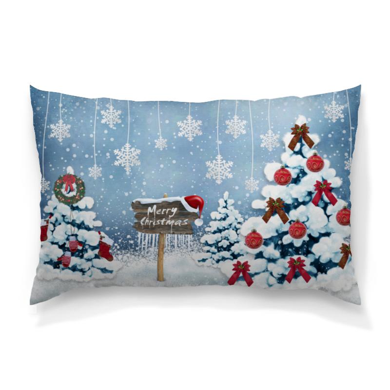 Подушка 60х40 с полной запечаткой Printio Christmas подушка 60х40 с полной запечаткой printio вселенная