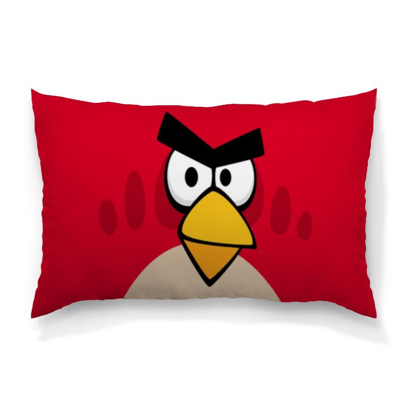 Подушка 60х40 с полной запечаткой Printio Angry birds (terence) футболка с полной запечаткой женская printio angry birds terence