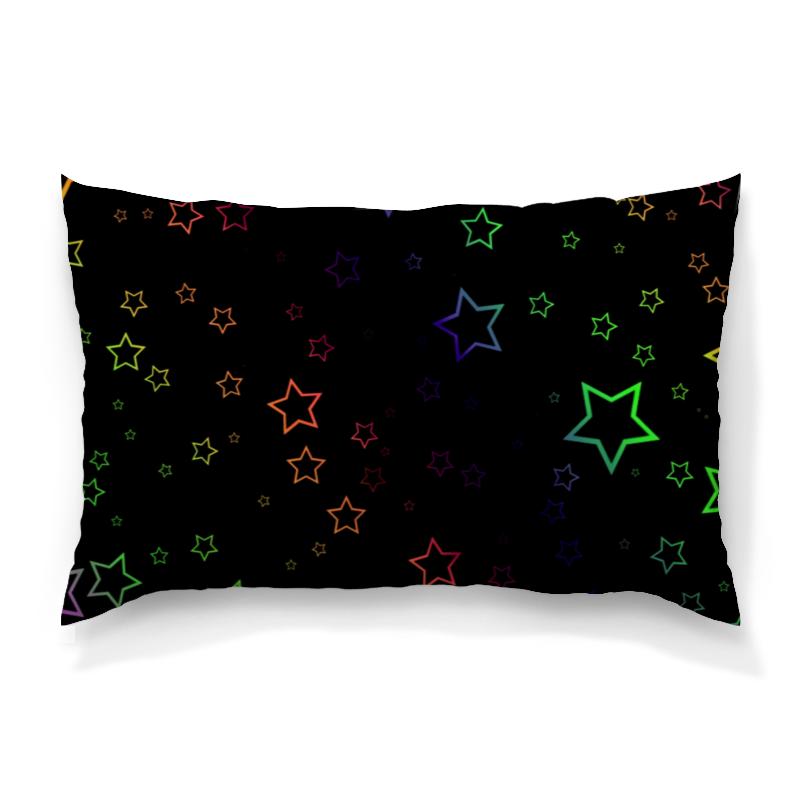 Подушка 60х40 с полной запечаткой Printio Звезды