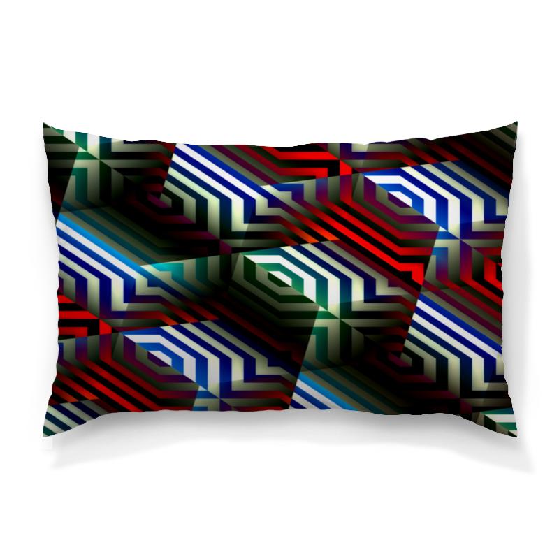Подушка 60х40 с полной запечаткой Printio Цветной орнамент цена и фото