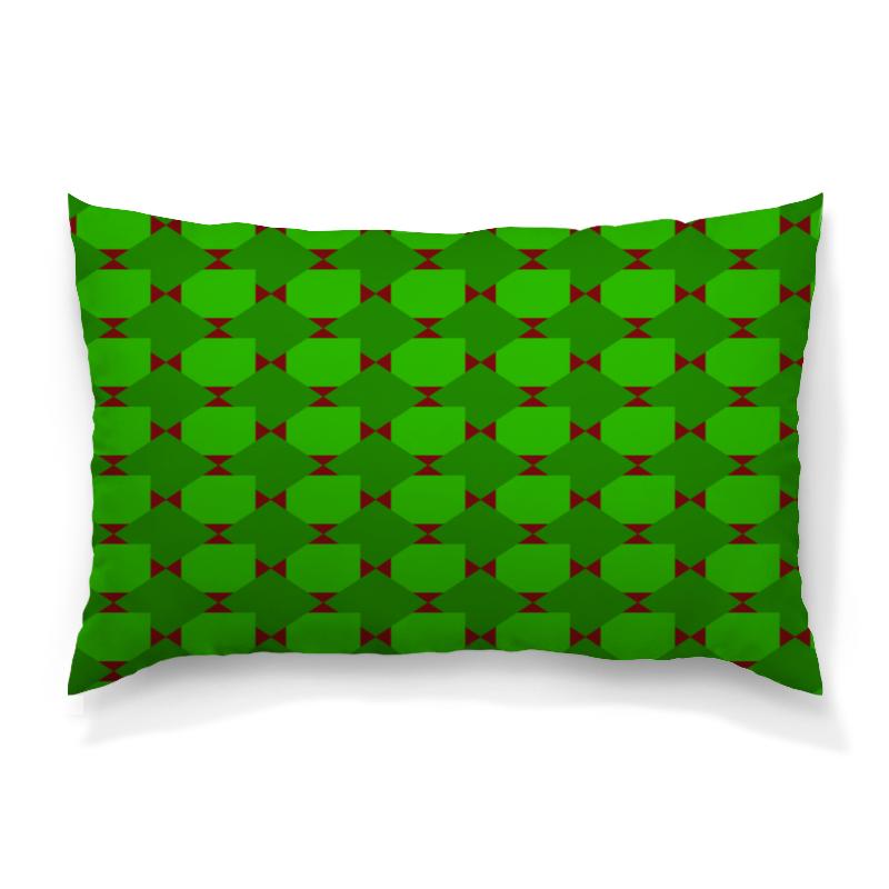 Фото - Подушка 60х40 с полной запечаткой Printio Зеленые ромбы толстовка с полной запечаткой printio зеленые ромбы