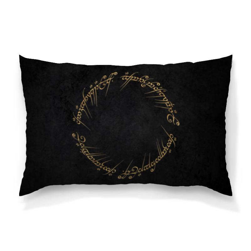 Подушка 60х40 с полной запечаткой Printio Чёрное наречие валерия лисичко чёрное перо