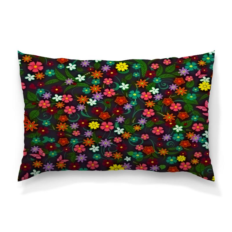 Подушка 60х40 с полной запечаткой Printio Весенние цветы подушка 60х40 с полной запечаткой printio весенние цветки
