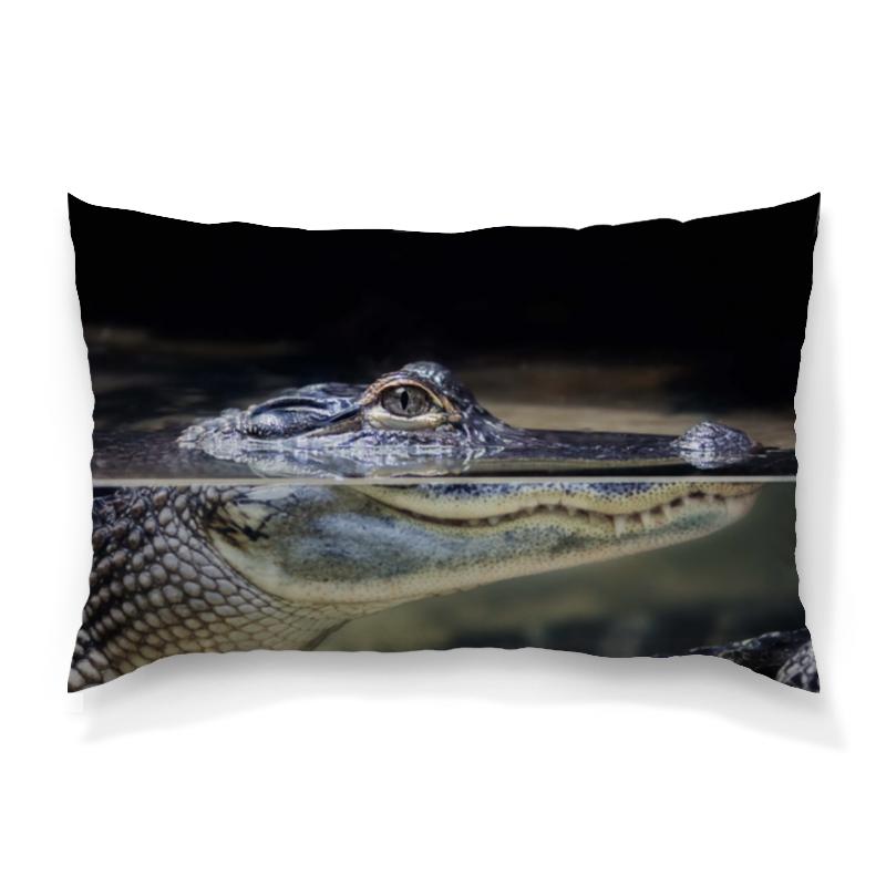 Printio Крокодил подушка 60х40 с полной запечаткой printio птицы