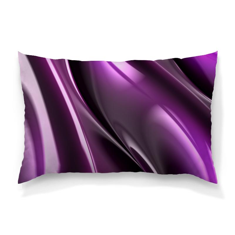 Подушка 60х40 с полной запечаткой Printio Фиолетовые линии футболка с полной запечаткой женская printio фиолетовые линии