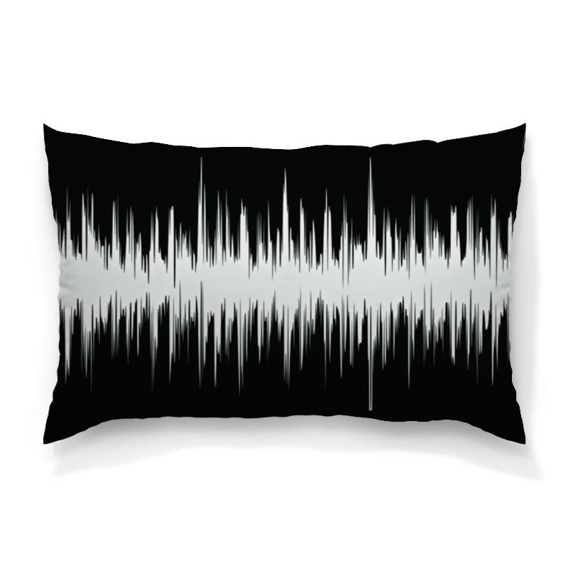 Подушка 60х40 с полной запечаткой Printio Черно-белый узор подушка 60х40 с полной запечаткой printio черно белый орнамент