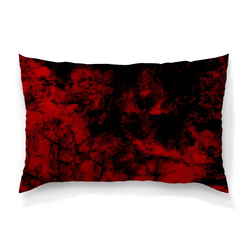 Подушка 60х40 с полной запечаткой Printio Черно-красный подушка 60х40 с полной запечаткой printio вселенная