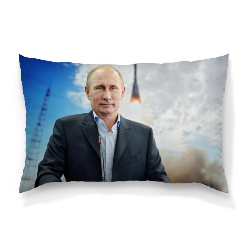 Подушка 60х40 с полной запечаткой Printio Путин подушка printio путин