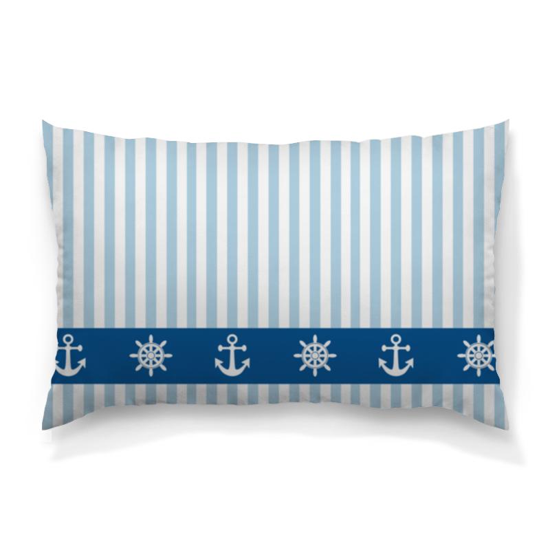 Подушка 60х40 с полной запечаткой Printio Морская тема подушка printio подушка финская тема