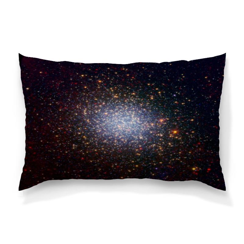 Подушка 60х40 с полной запечаткой Printio Вспышки звезд цена и фото