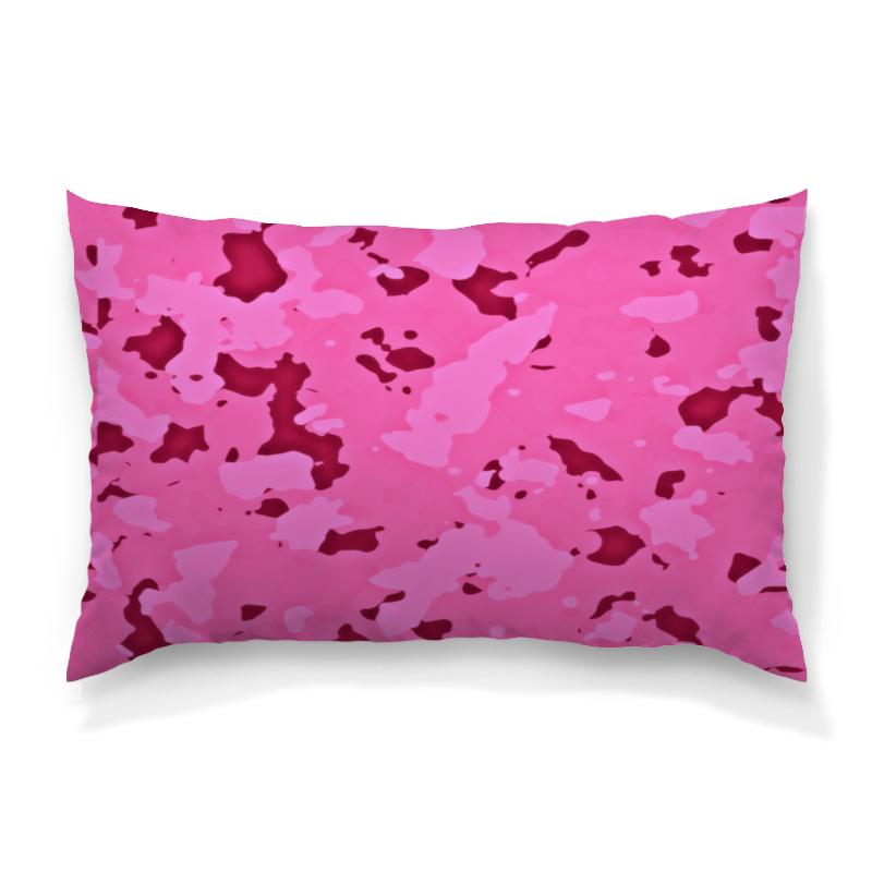 Подушка 60х40 с полной запечаткой Printio Розовый камуфляж подушка 60х40 с полной запечаткой printio розовый фламинго