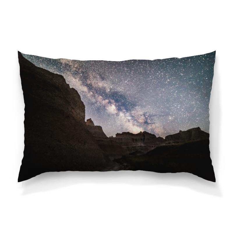 Подушка 60х40 с полной запечаткой Printio Звездная ночь борцовка с полной запечаткой printio звездная ночь
