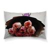 """Подушка 60х40 с полной запечаткой """"Розовые розы"""" - цветы, подарок, валентинка, букет, розовые розы"""