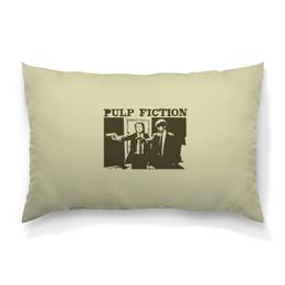 """Подушка 60х40 с полной запечаткой """"Pulp Fiction"""" - кино, фильм, тарантино, криминальное чтиво, pulp fiction"""