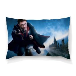 "Подушка 60х40 с полной запечаткой ""Гарри Поттер"" - сказка, гарри поттер, волшебство, магия, хогвардс"