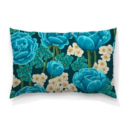 """Подушка 60х40 с полной запечаткой """"Красивые цветы"""" - красиво, цветы, ярко, природа, красивые цветы"""