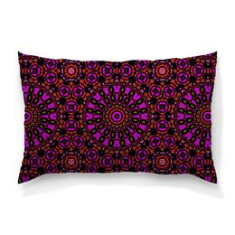 """Подушка 60х40 с полной запечаткой """"purple"""" - арт, узор, фиолетовый, абстракция, фигуры"""