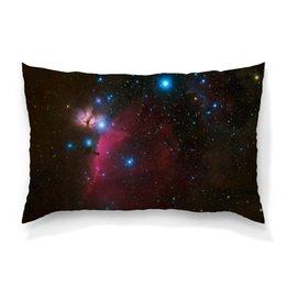 """Подушка 60х40 с полной запечаткой """"Яркий космос"""" - звезды, космос, планеты"""