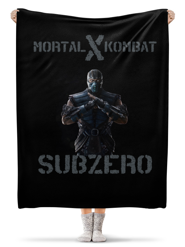 Плед флисовый 130х170 см Printio Плед плед mortal kombat x (sub-zero) плед hamam waterside 130х170 см