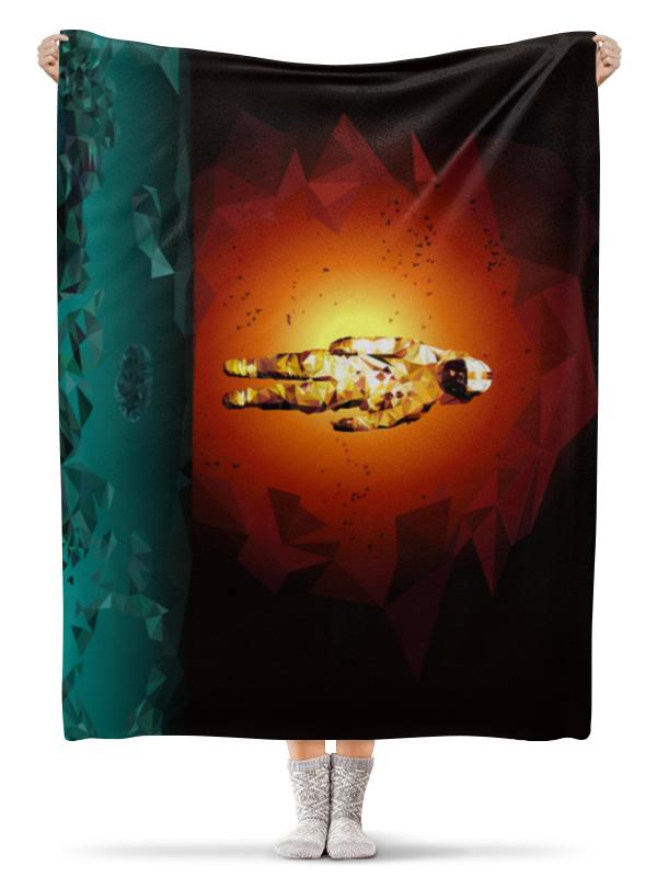 Плед флисовый 130х170 см Printio Космонавт плед флисовый 130х170 см printio свин бэтмен