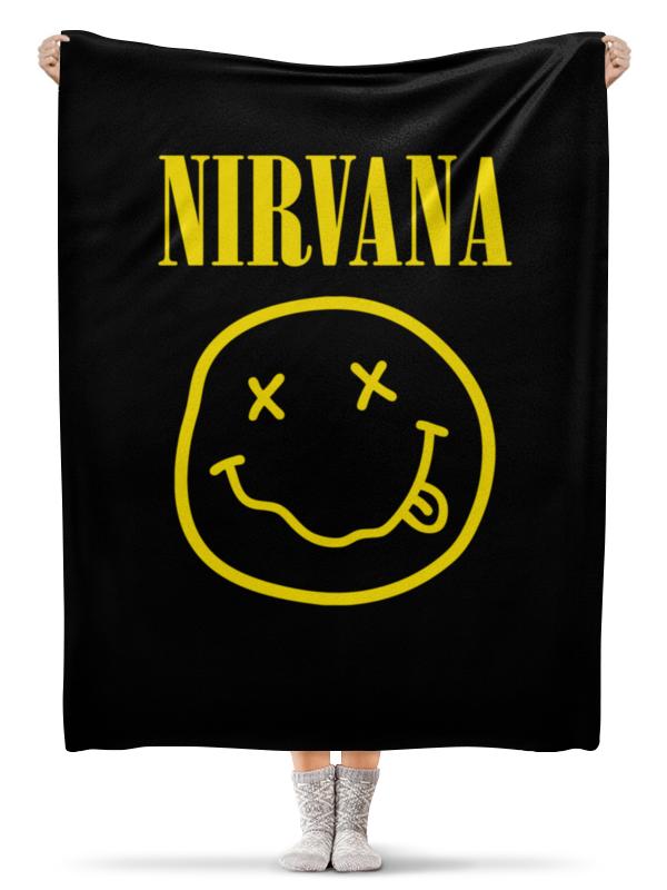 Плед флисовый 130х170 см Printio Nirvana