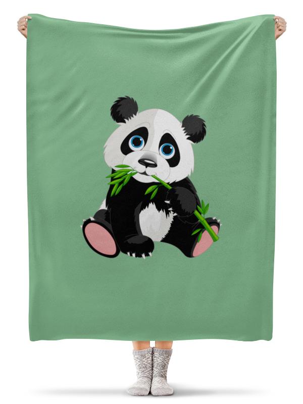Плед флисовый 130х170 см Printio Маленькая панда панда 30 см