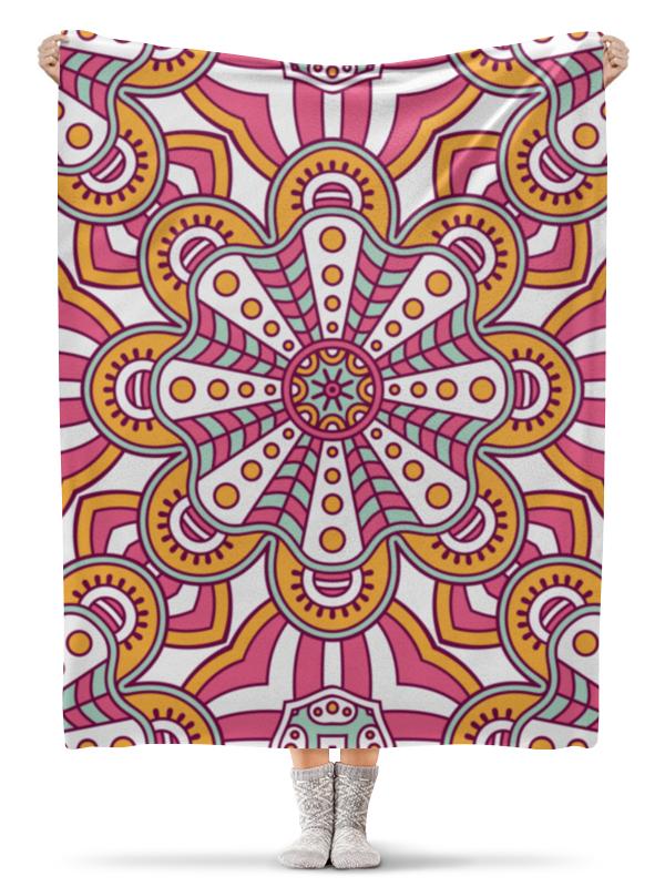 Плед флисовый 130х170 см Printio Орнамент плед флисовый 130х170 см printio орнамент